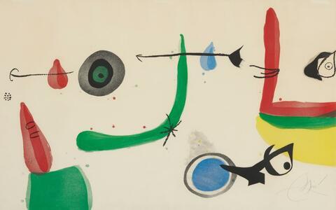 Joan Miró - Déballage II