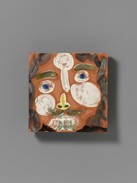 Pablo Picasso - Visage au trait oblique