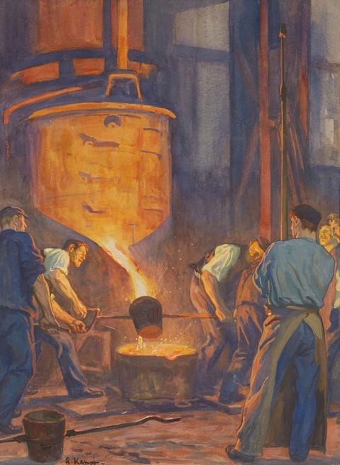 Arthur Kampf - Steelworkers