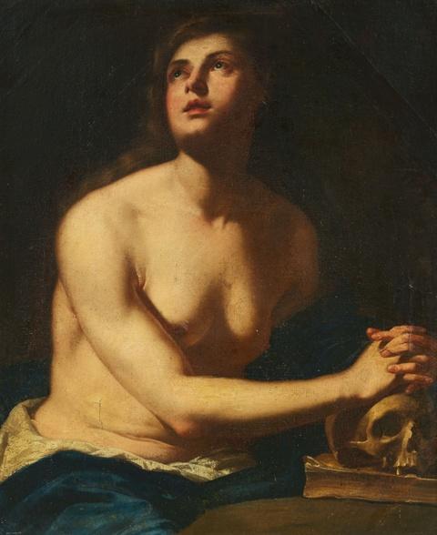 Italienischer Meister des 17. Jahrhunderts - Büßende Maria Magdalena