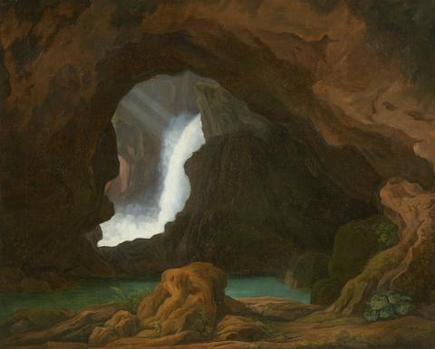 Deutscher Künstler des 19. Jahrhunderts - Die Neptunsgrotte von Tivoli