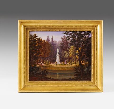 Bildplatte mit Denkmal Friedrich Wilhelm III. -