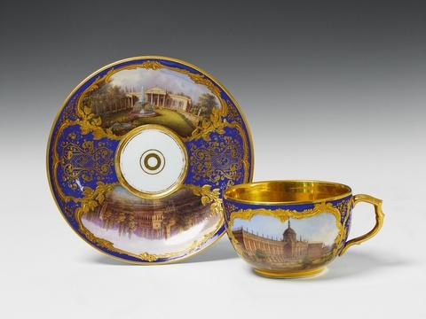 Große Tasse mit Potsdamer Ansichten -