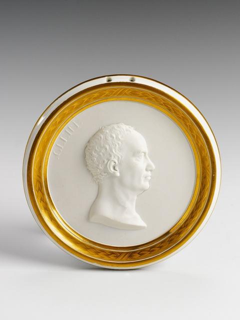 Reliefporträt Johann Gleim -