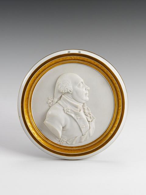 Großes Reliefporträt Friedrich Wilhelms II. -
