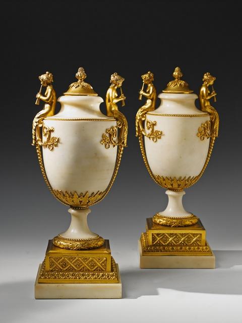 Paar Vasen époque Louis XVI -