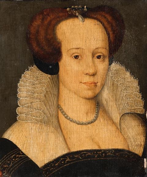 Französischer Meister des 16. Jahrhunderts - Bildnis einer Dame
