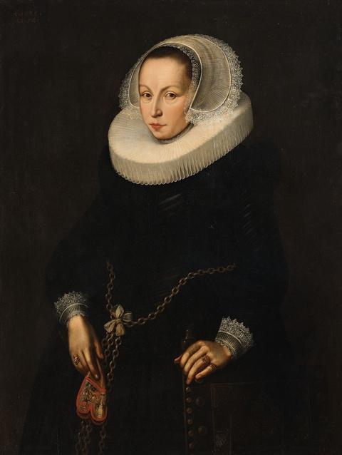 Netherlandish School 17th century - Portrait of a Lady