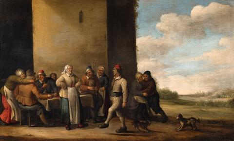 Joost Cornelisz. Droochsloot - The Peasant's Meal