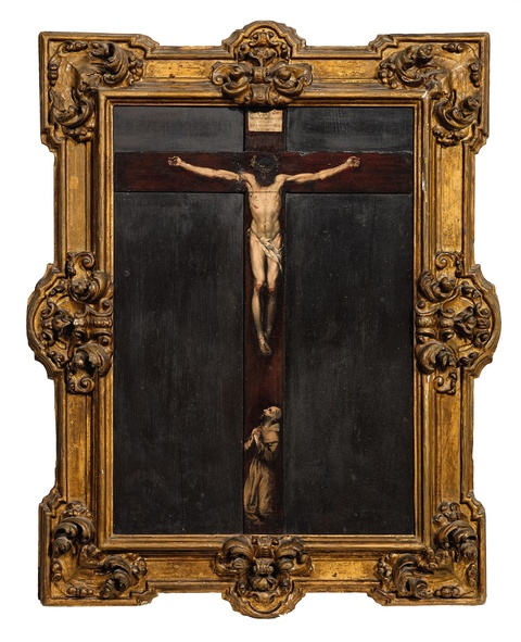 Giuseppe Maria Crespi, circle of - The Crucifixion of Christ