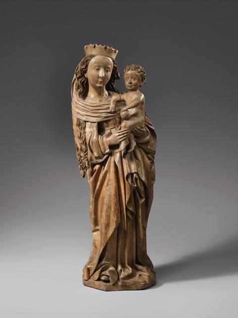 Schwaben um 1470/1480 - Madonna mit Kind