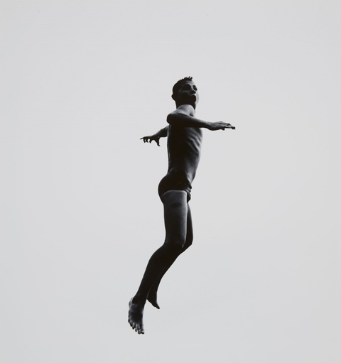 Aaron Siskind - #482 (aus der Serie: Pleasure and terror of levitation)