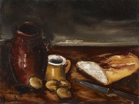 Maurice de Vlaminck - Nature Morte au pain