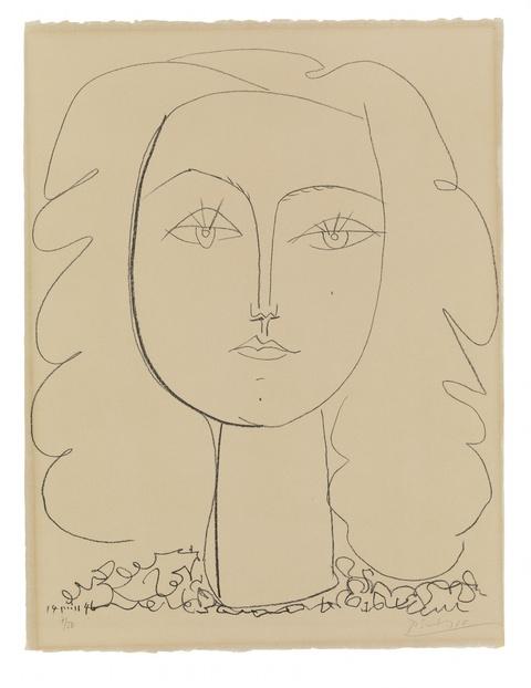 Pablo Picasso - Françoise