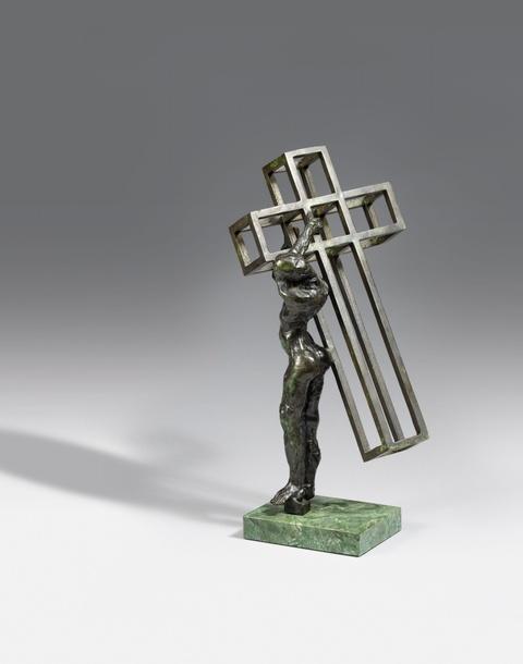 Salvador Dali Y Domenech - Christ portant sa croix/Christo de Cadaqués