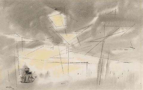 Lyonel Feininger - Seascape