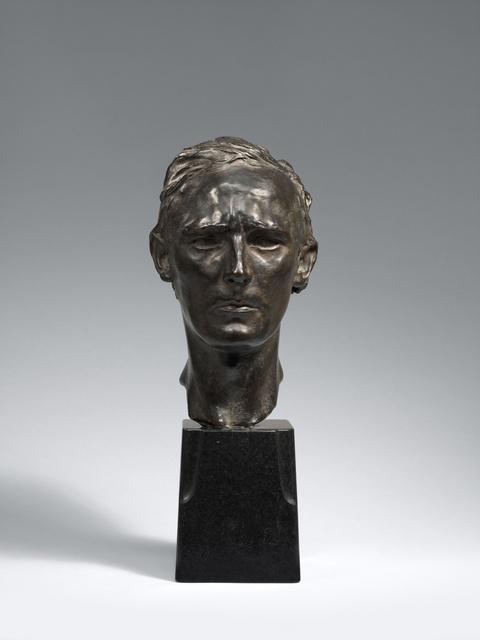 Georg Kolbe - Porträt Ludwig Derleth (1870-1948)