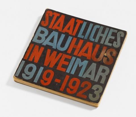 Portfolio - Staatliches Bauhaus in Weimar 1919-1923