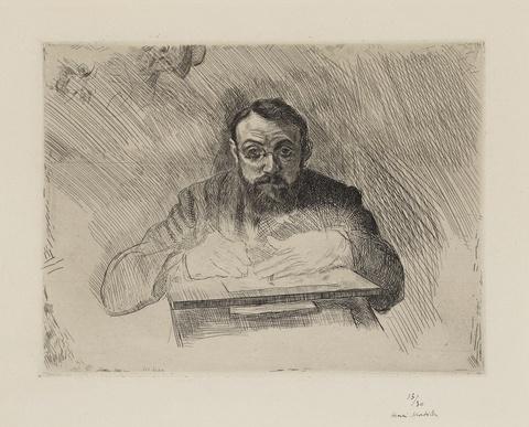 Henri Matisse - Henri Matisse gravant