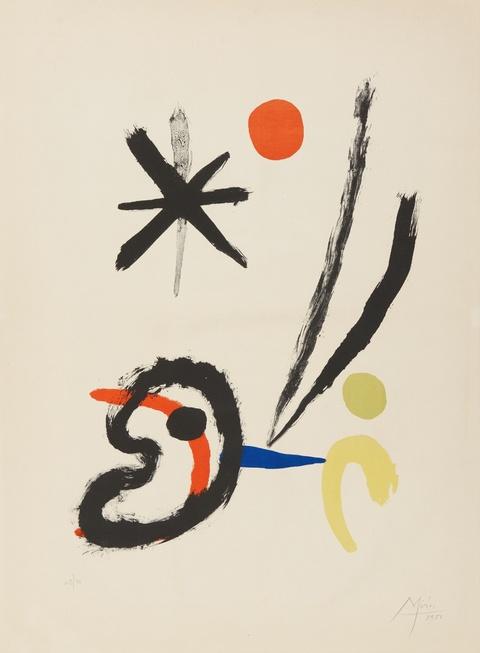 Joan Miró - Comet Bird