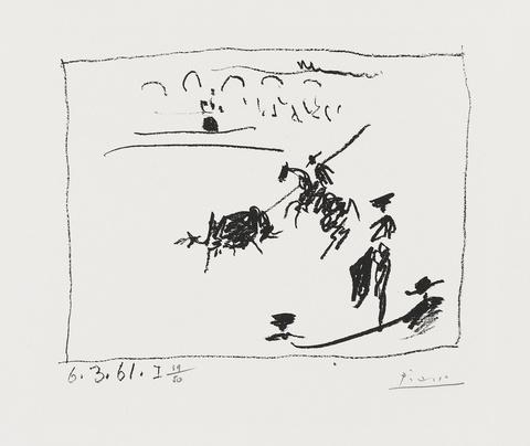 Pablo Picasso - La Pique