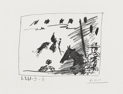 Pablo Picasso - Jeu de la Cape