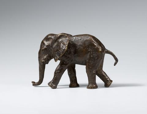 Renée Sintenis - Junger Elefant