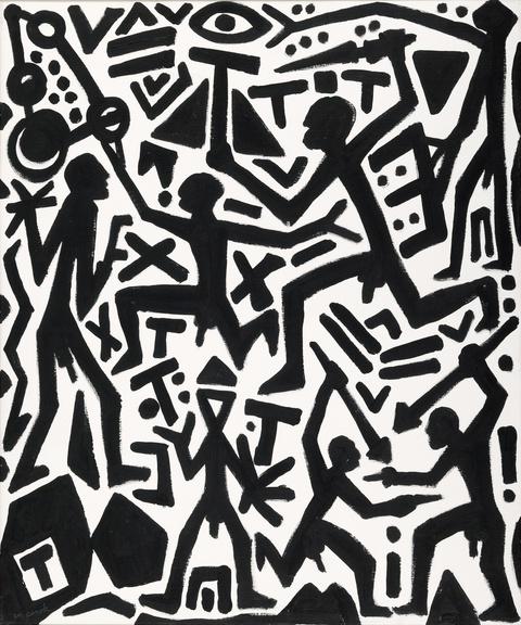 A.R. Penck - Chaotisches System