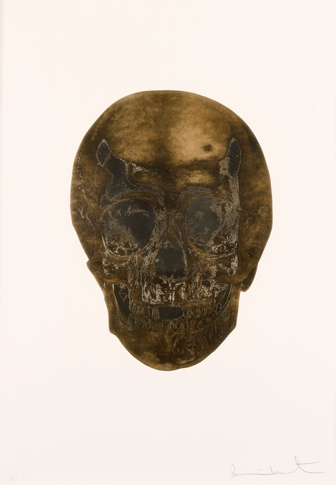 Damien Hirst - Death or Glory - Glorious Skull