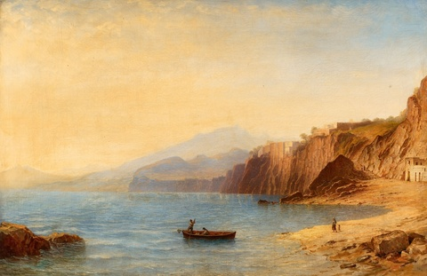 Carl Morgenstern - The Coast of Sorrent
