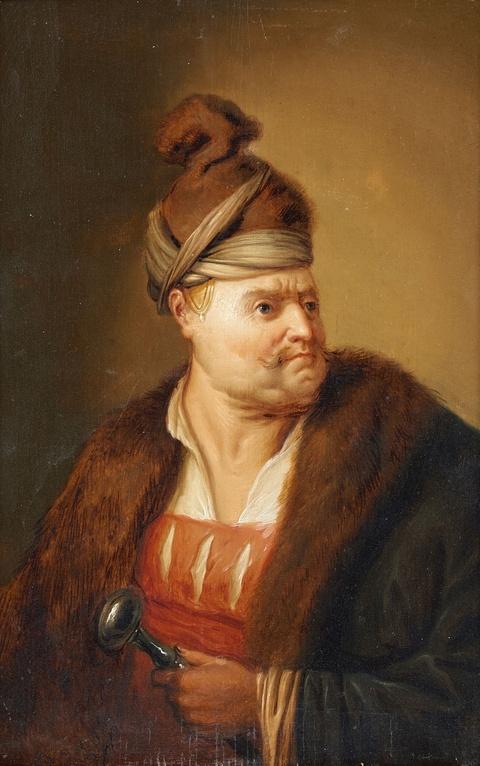 Christian Wilhelm Ernst Dietrich, gen. Dietricy, Umkreis - Mann in orientalischer Kleidung