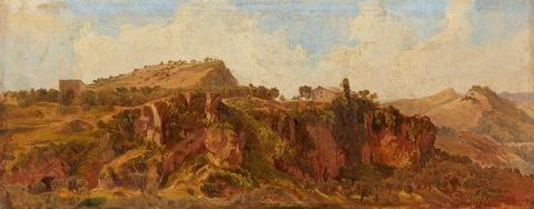 Deutscher Künstler des 19. Jahrhunderts - Griechische Landschaft