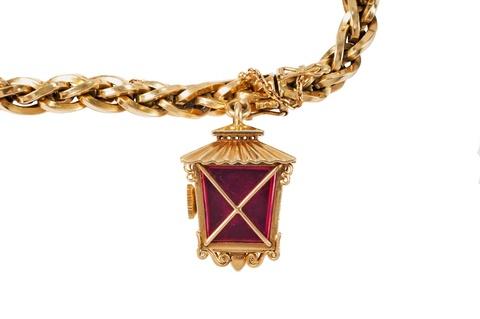 Rolex-Armband mit Anhängeuhr -