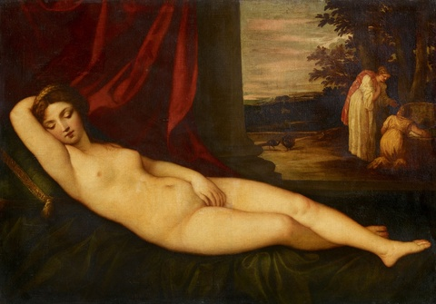 Alessandro Varotari, called Il Padovanino - Recumbent Venus