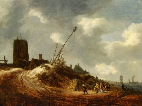 Isaack van Ruisdael - A View of Egmond