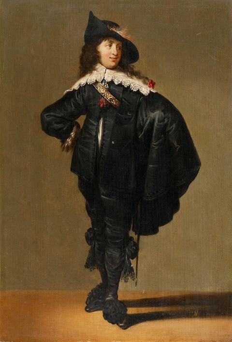 Jacob van der Merck - Bildnis eines jungen Herrn