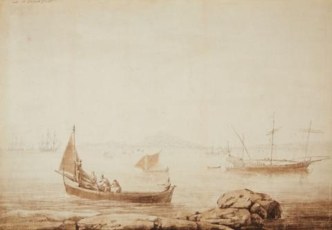 Jacob Philipp Hackert - Blick auf die Bucht Gaeta