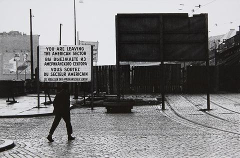 Will McBride - Sektorengrenze, Berlin