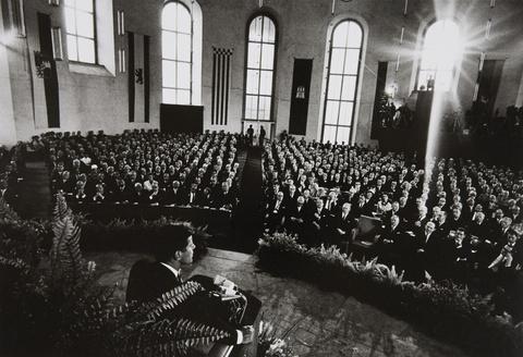Will McBride - John F. Kennedy in der Paulskirche, Frankfurt/Main