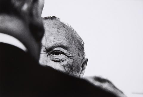 Robert Lebeck - Konrad Adenauer an seinem 90. Geburtstag in Bonn