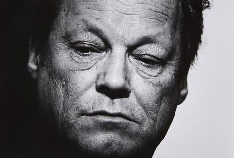 Robert Lebeck - Willy Brandt, Rücktritt, Bonn