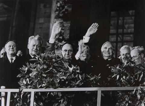 Barbara Klemm - Tag der deutschen Vereinigung, Berlin, 3. Oktober 1990