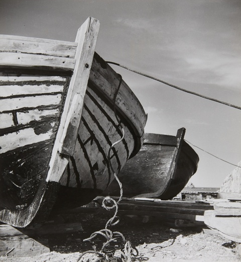 Herbert List - Untitled (Boats, Greece)