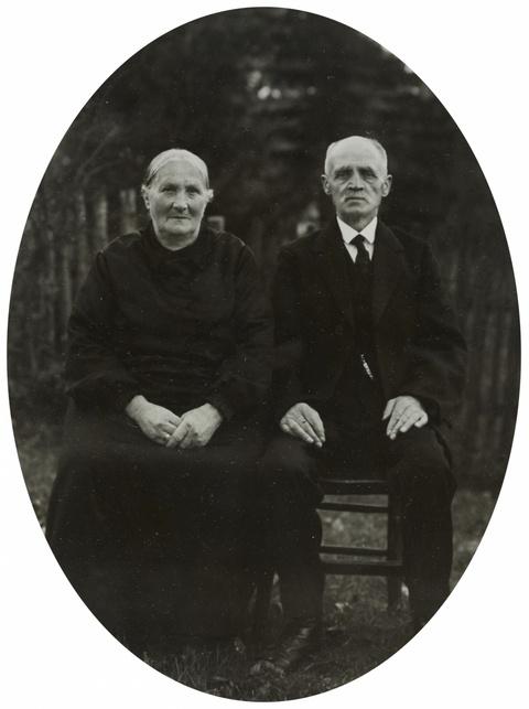 August Sander - Ehepaar aus dem Westerwald