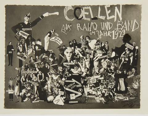 August Sander - Coellen aus Rand und Band em Jahr 1929