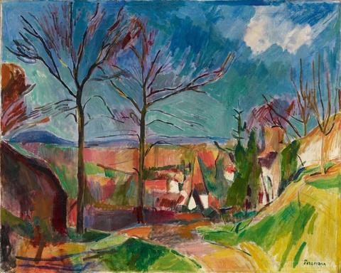 Hans Purrmann - Landschaft bei Beilstein