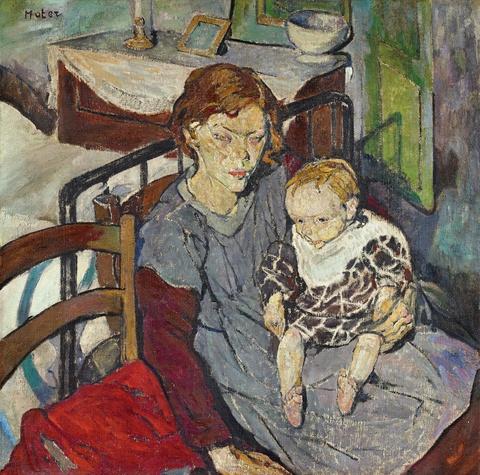 Mela Muter (Maria Melania Mutermilch) - 2 Kinder