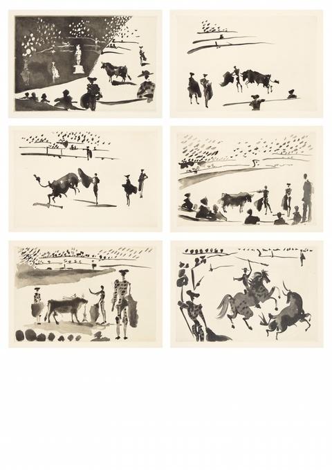 Pablo Picasso - La Tauromaquia, o arte de torear