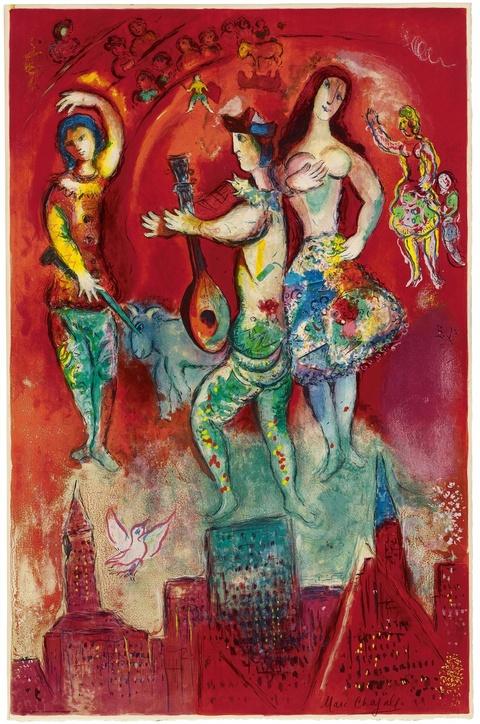 Marc Chagall - Carmen