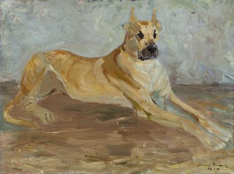 Otto Dill - Dogge